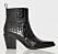 Svarta boots för dam till våren 2019