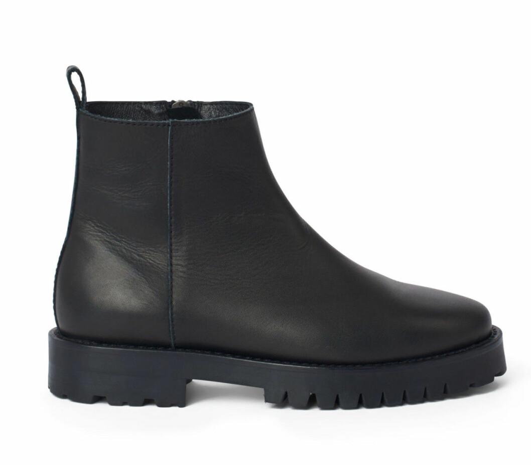 Svarta boots från Minimarket x Åhlens