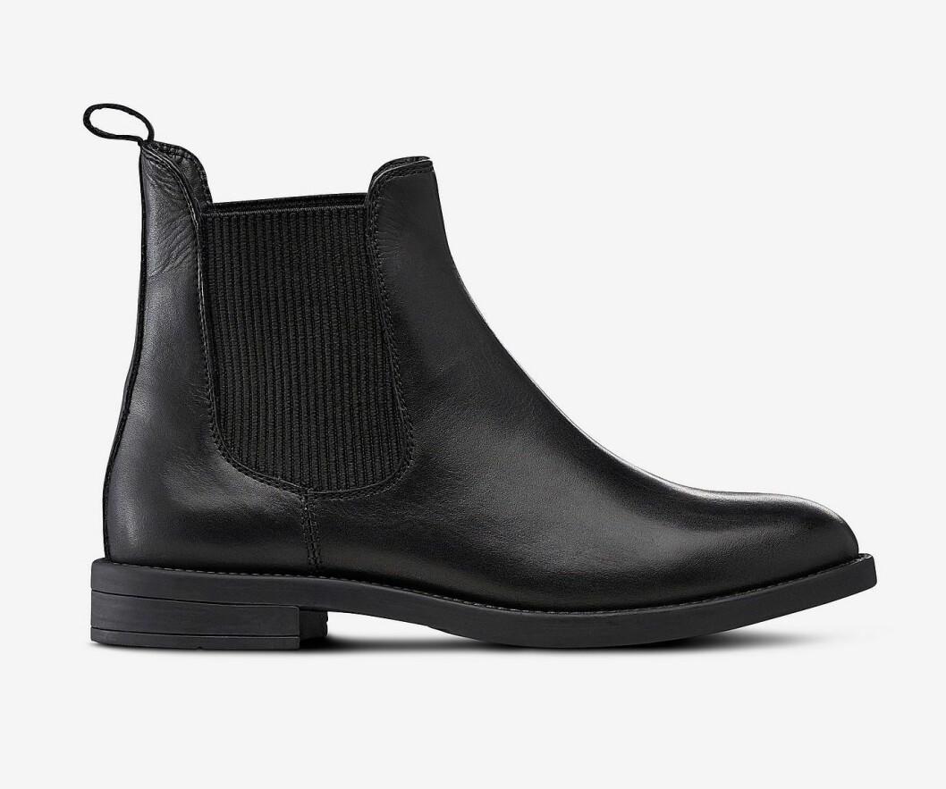 Svarta boots utan klack för dam till hösten 2019