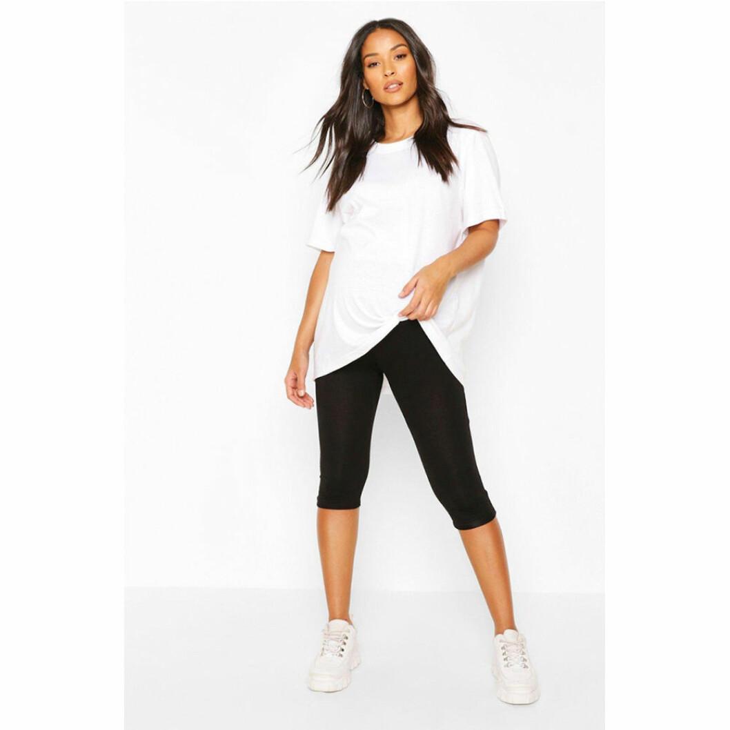 Svarta tights/shorts för gravida