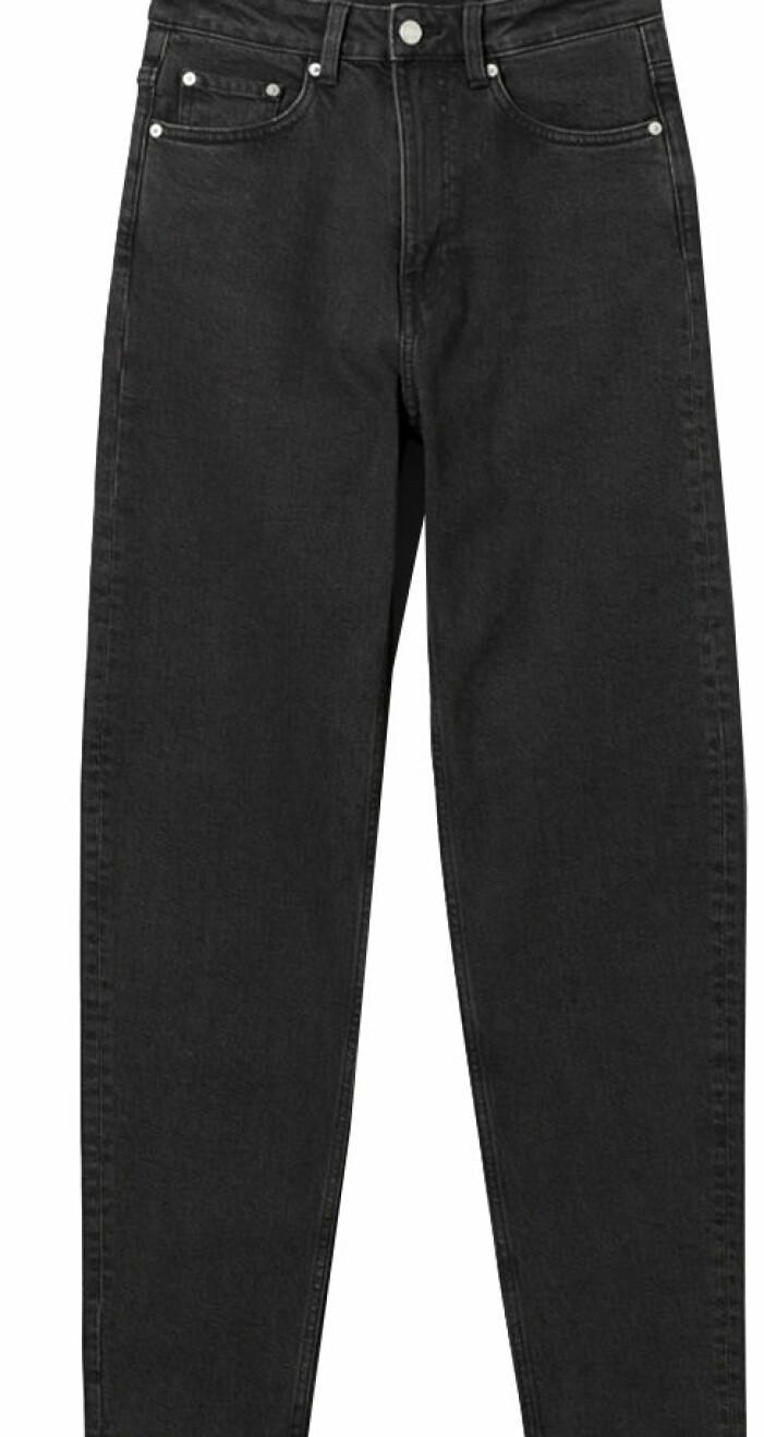 svarta jeans som leya bär i snabba cash