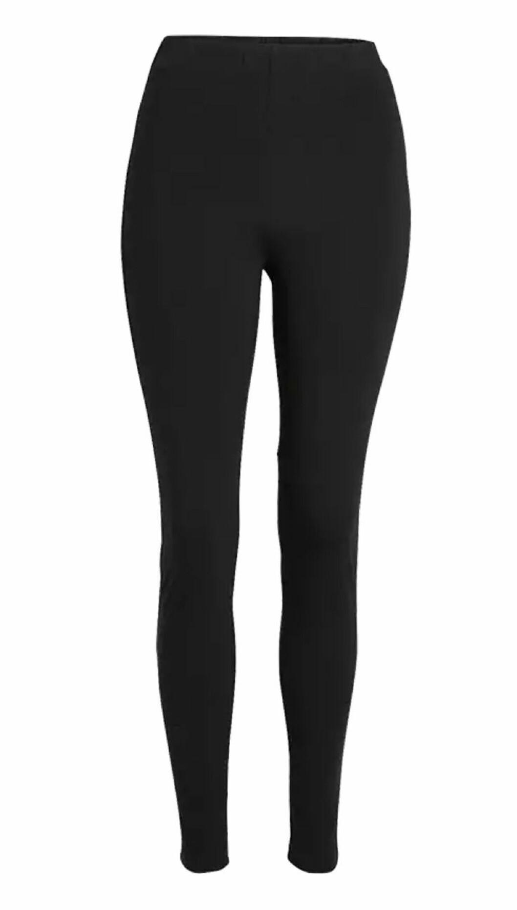 Svarta klassiska leggings