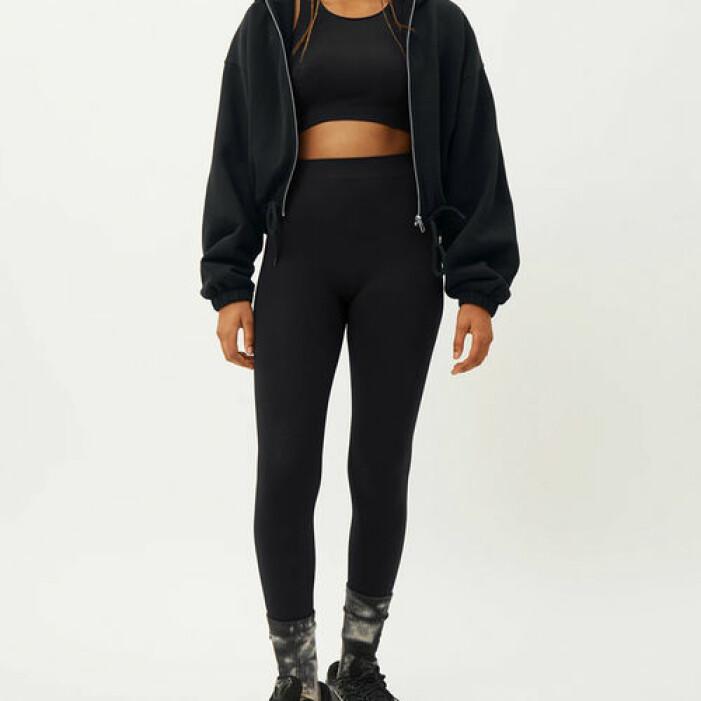 Svarta leggings med hög midja från Weekday