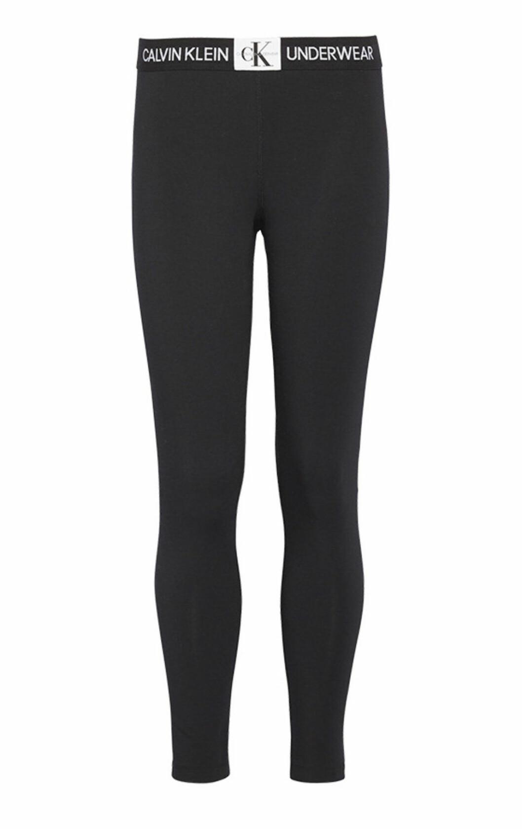 svarta leggings till dam