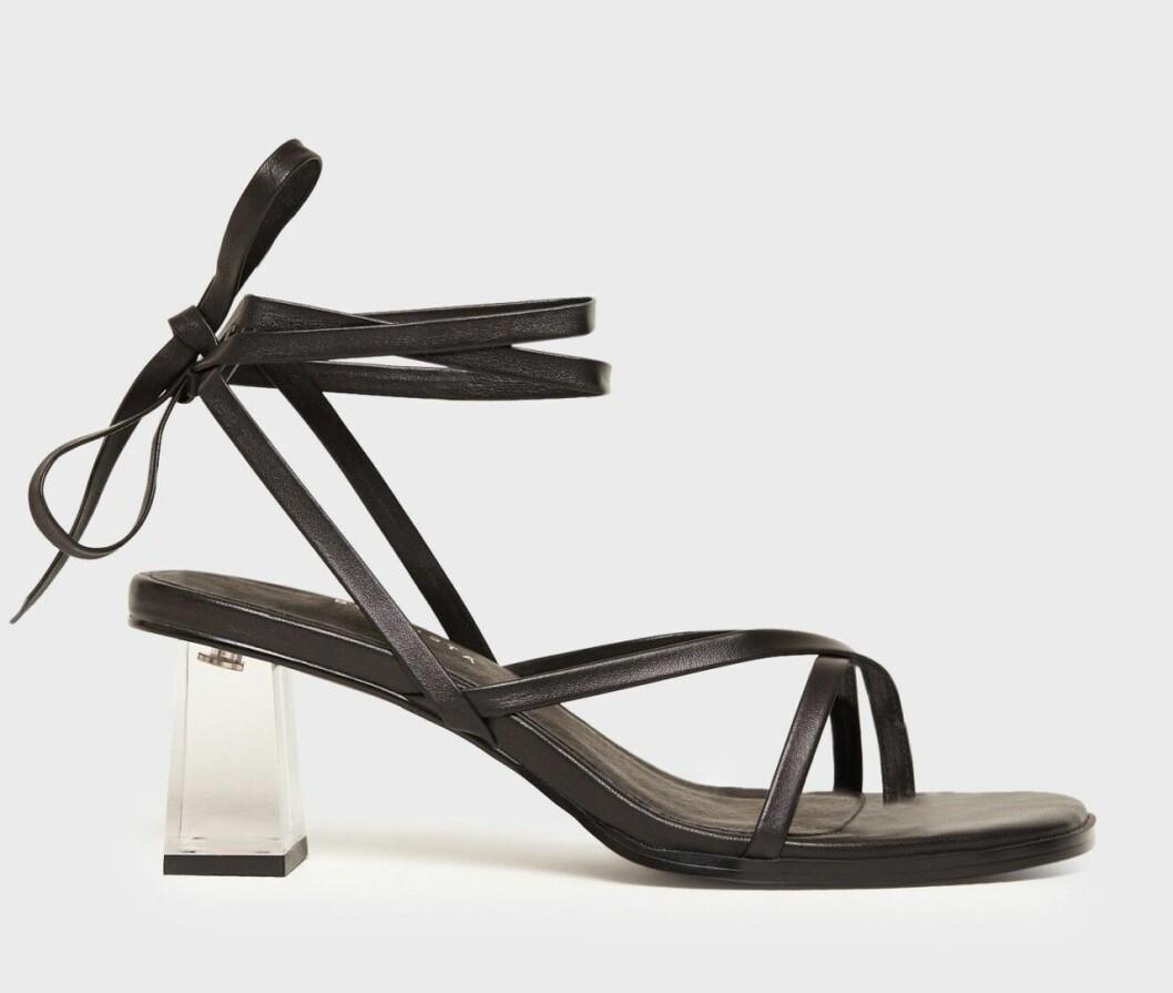 Svarta sandaletter för dam till 2020