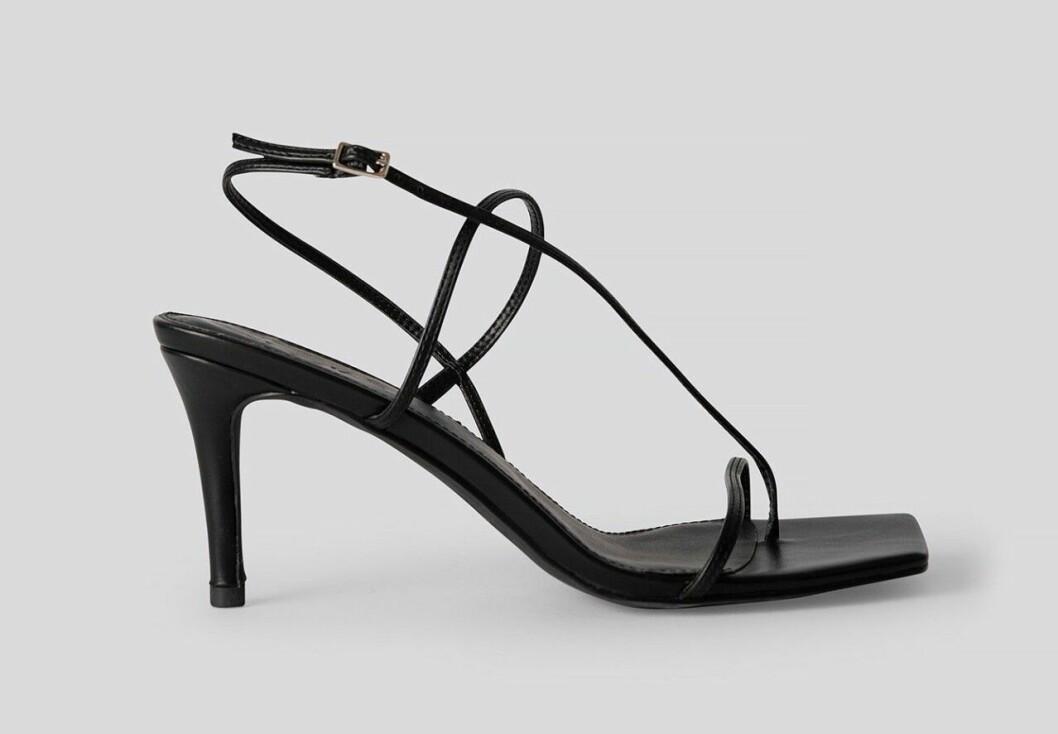 Svarta skor med fyrkantig tå till 2020
