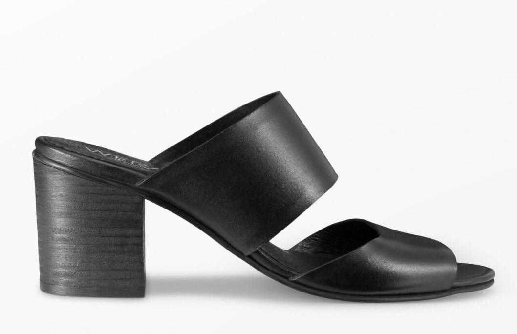 Svarta sandaletter från Wera för dam till 2020