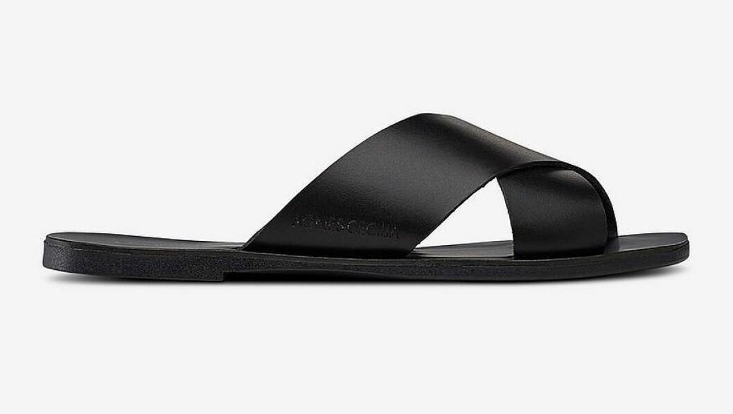 Svarta stilrena sandaler för dam till 2019