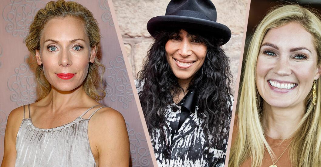 Svenska kändisar som blivit mammor när de varit över 40 år