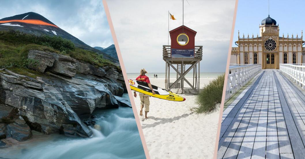 Svenska platser att besöka – tips till semestern