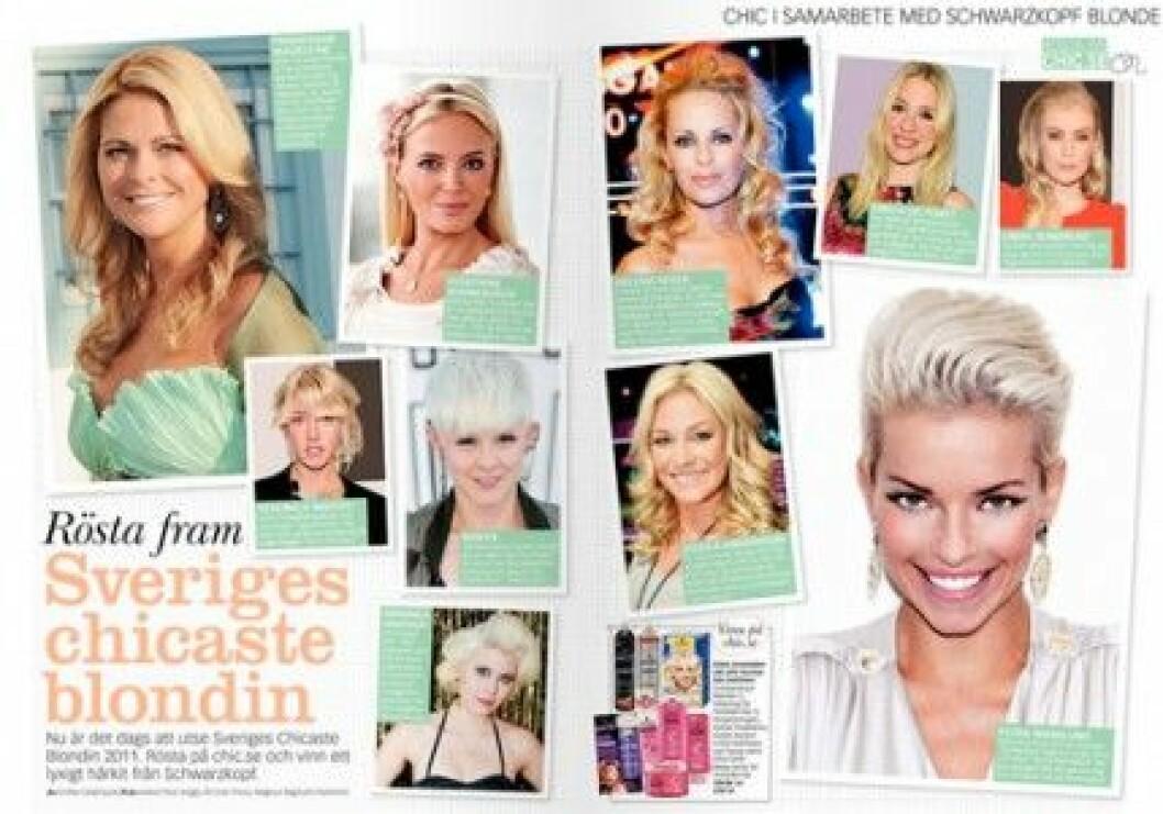 Baaam utser Sveriges Chicaste Blondin i samarbete med Schwarzkopf Blonde