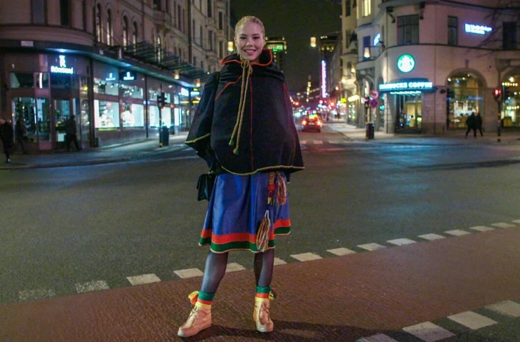 Ida är uppvuxen i Luleå men bor i dag i Stockholm.