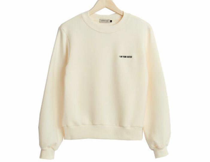 Sweatshirt med tryck från WMS