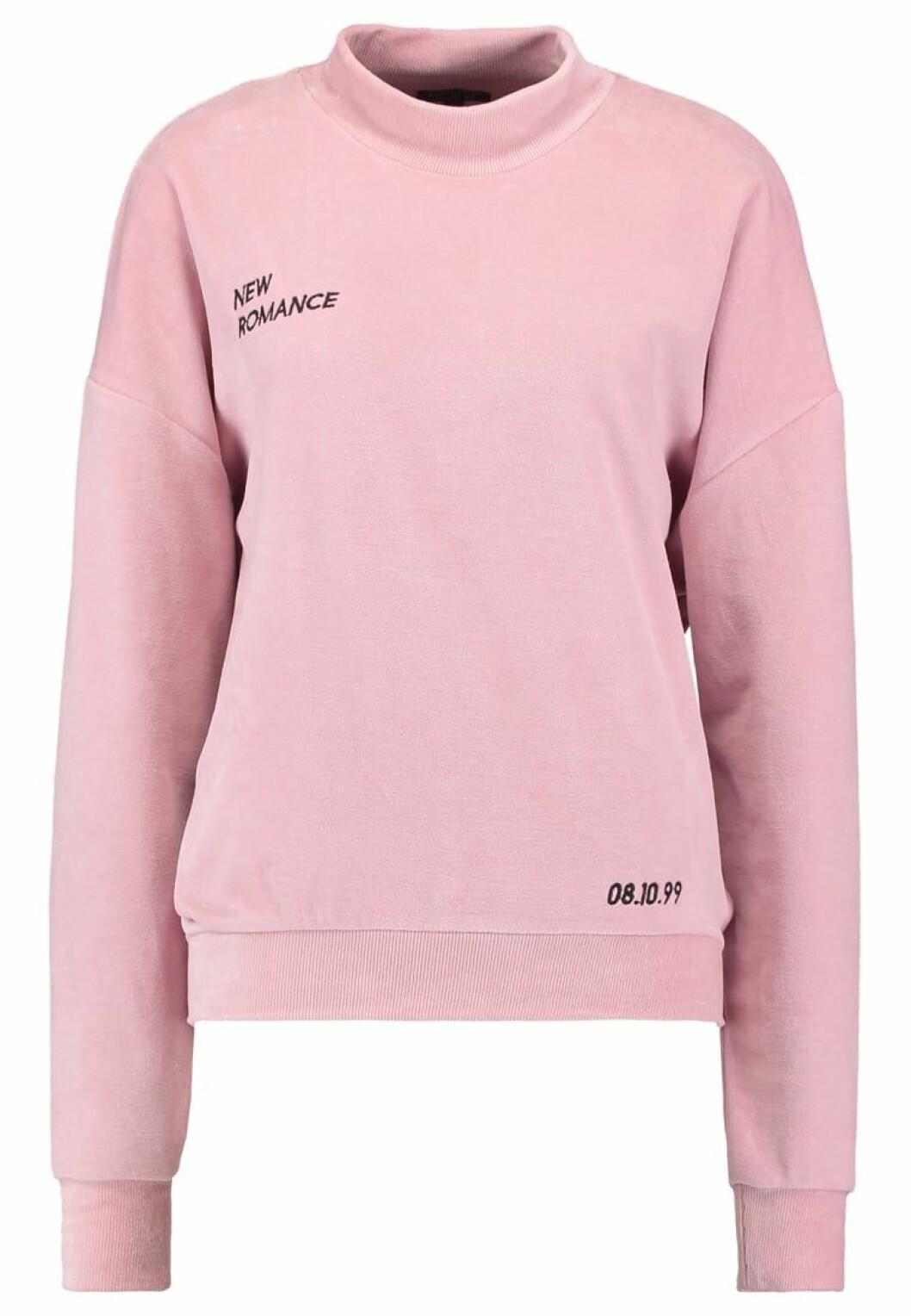 sweatshirt rosa topshop