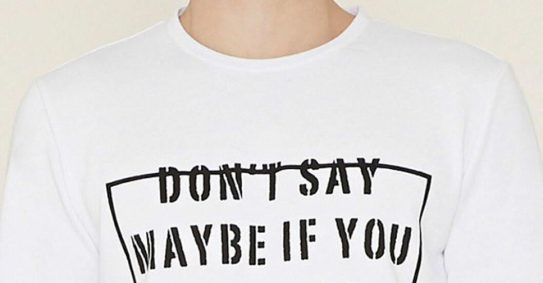 t-shirt forever 21