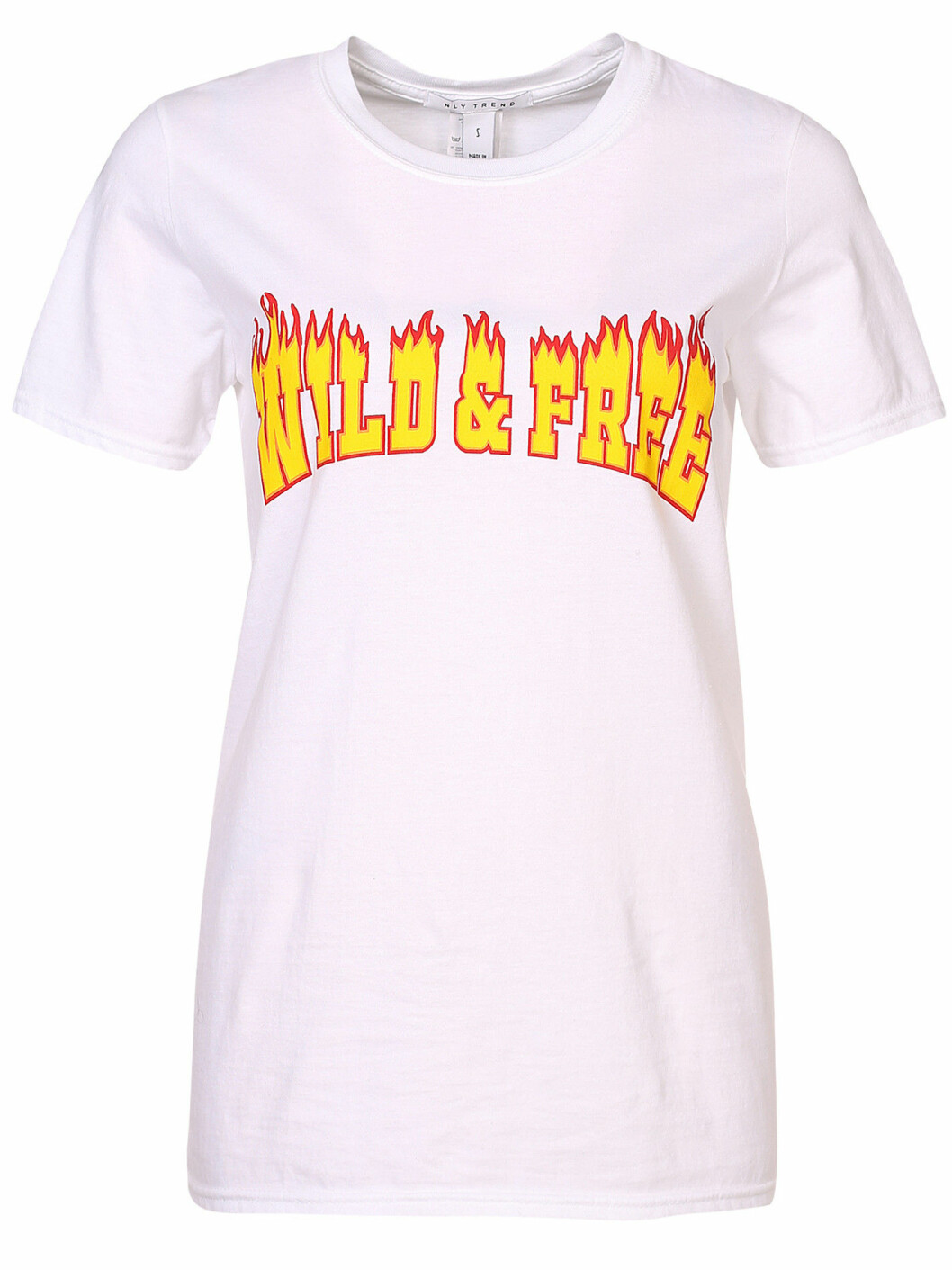 t shirt tryck wild and free