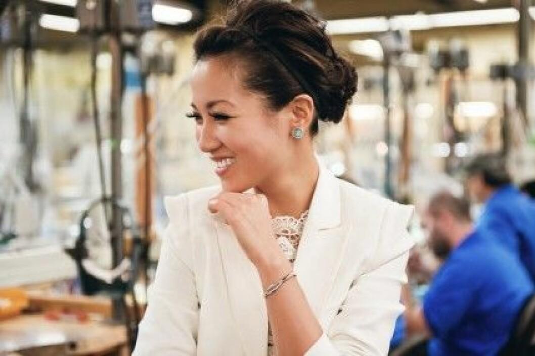 Wendy Nguyen från Wendy's Lookbook har designat Tacori Promise Bracelet.