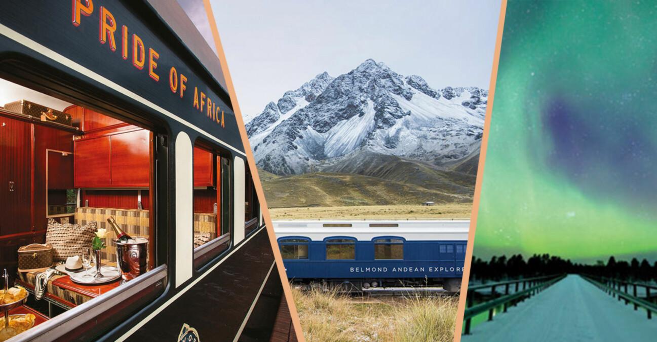 Tåg i Afrika, Anderna och räls med norrsken