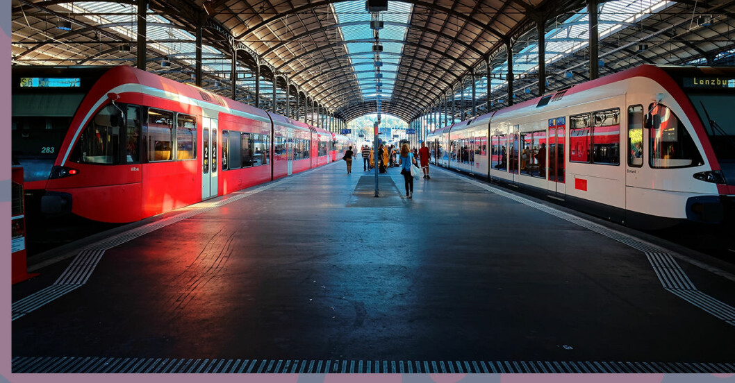 Nu kan du boka tåg - i hela Europa.