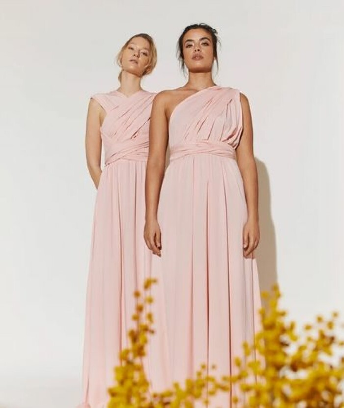 Rosa wrap dress från By Malina