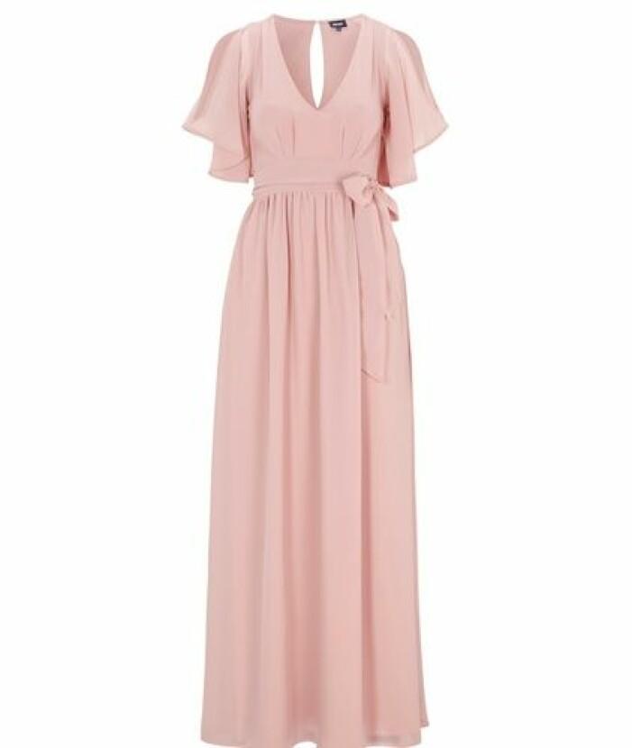 Rosa långklänning från Bubbleroom
