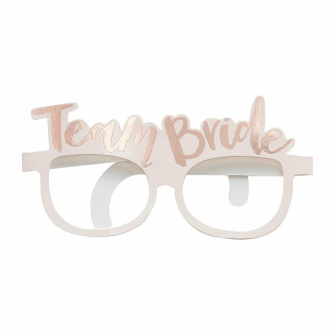 Glasögon team bride