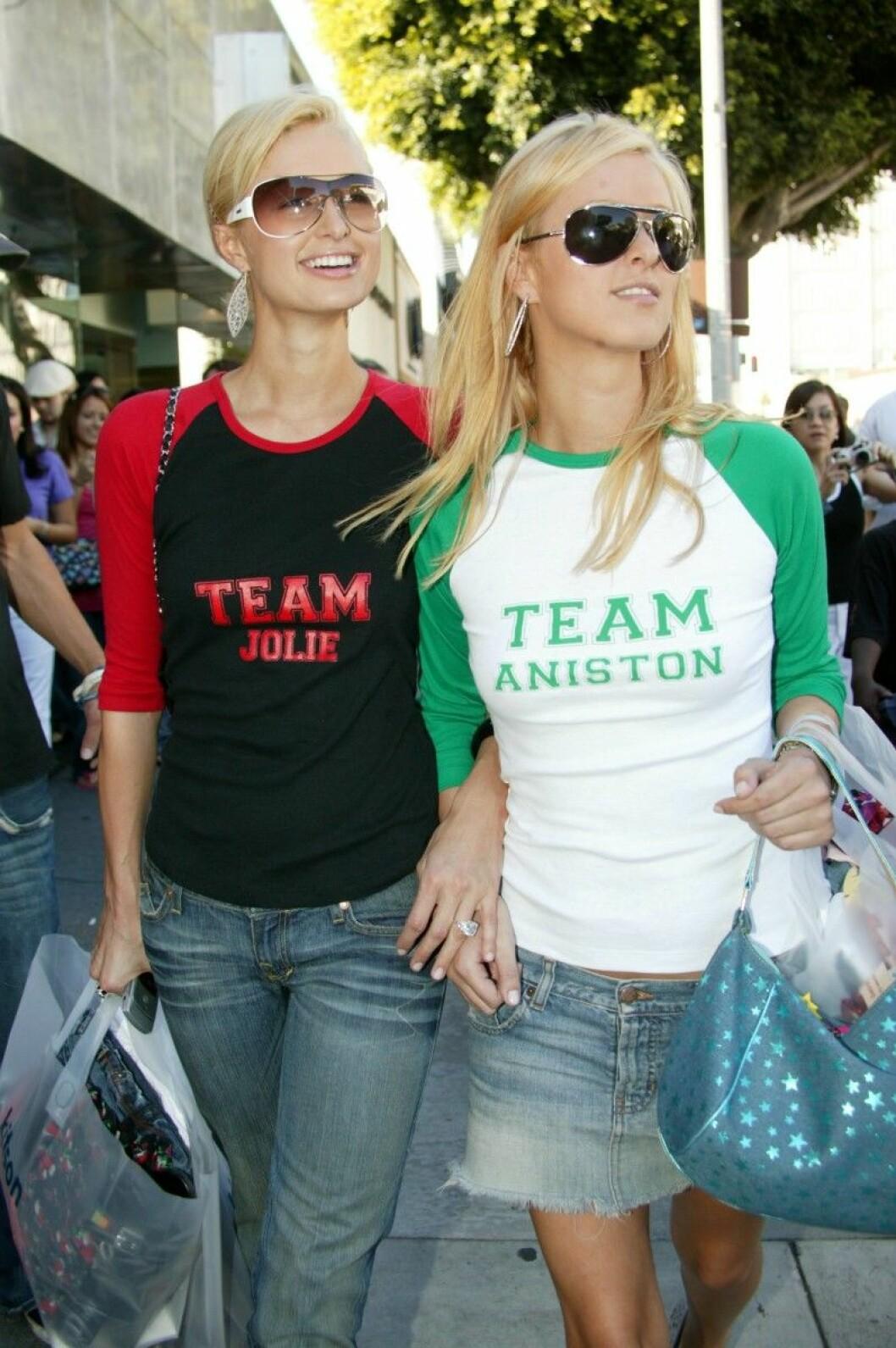 Paris Nicky Hilton team