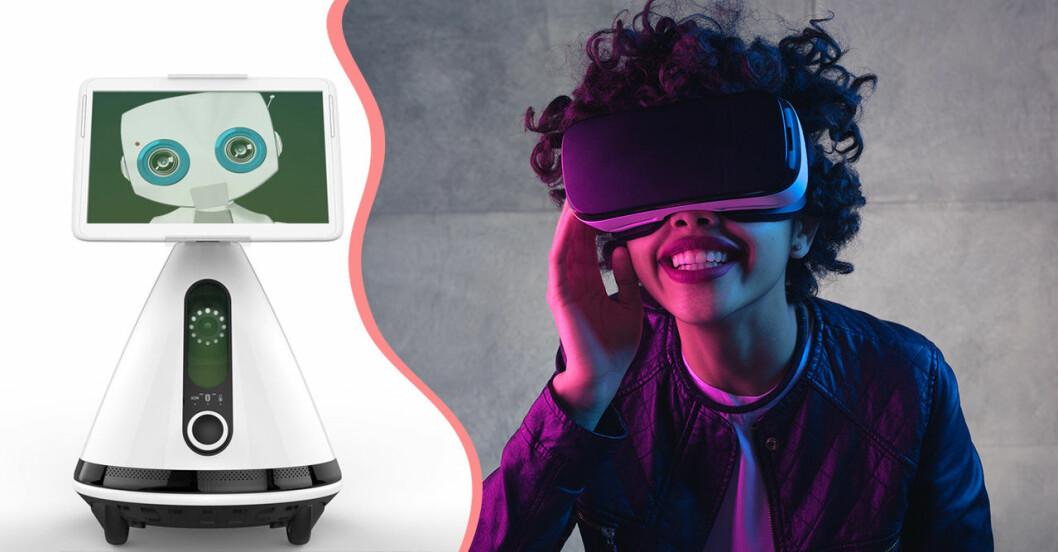 Techtrender Robot och VR