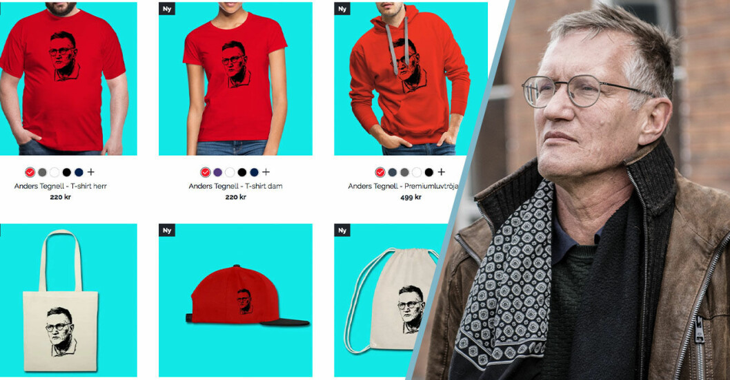 Anders Tegnell merch