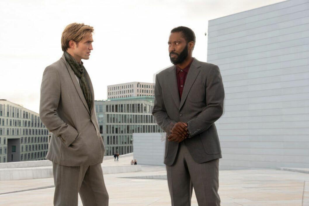 En bild från filmen Tenet med biopremiär 12 augusti.