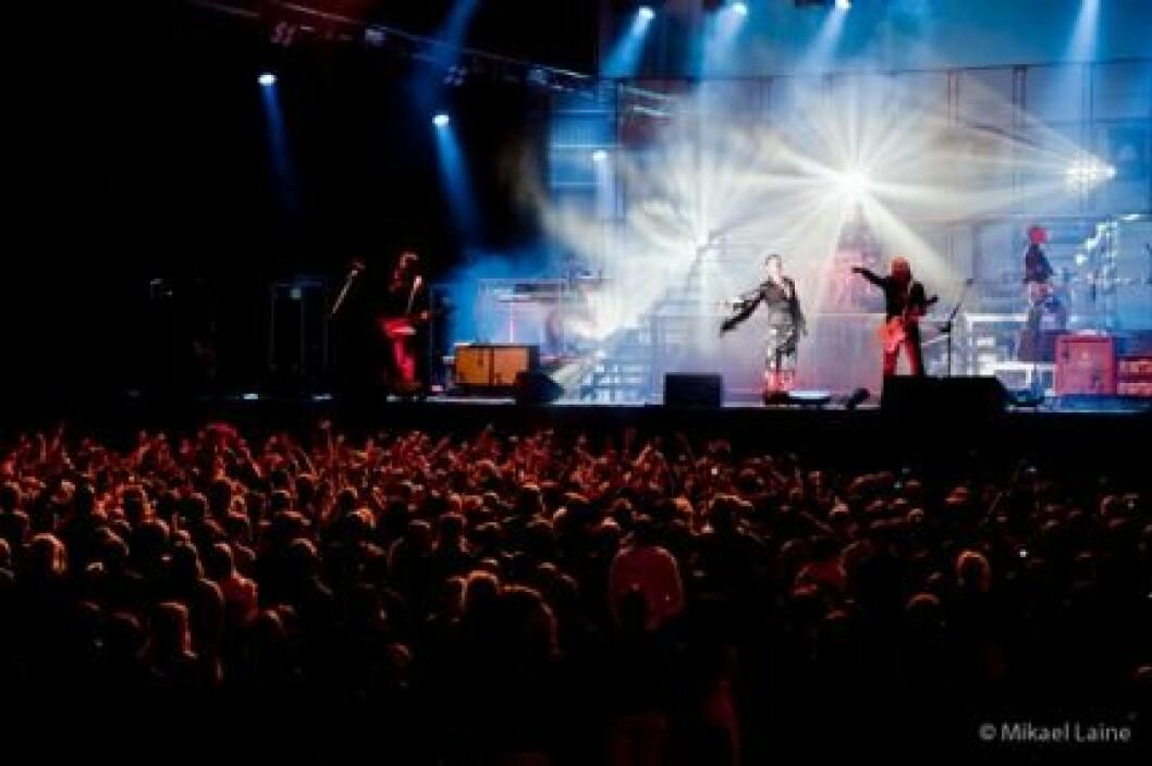 The Ark spelar på PiP i sommar. Bilden togs på  förra årets festival.