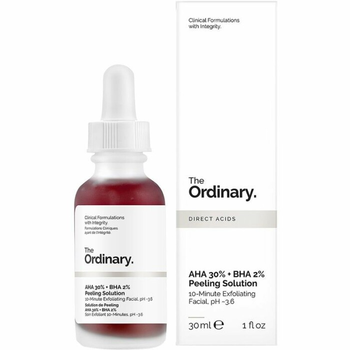 The Peeling solution the ordinary