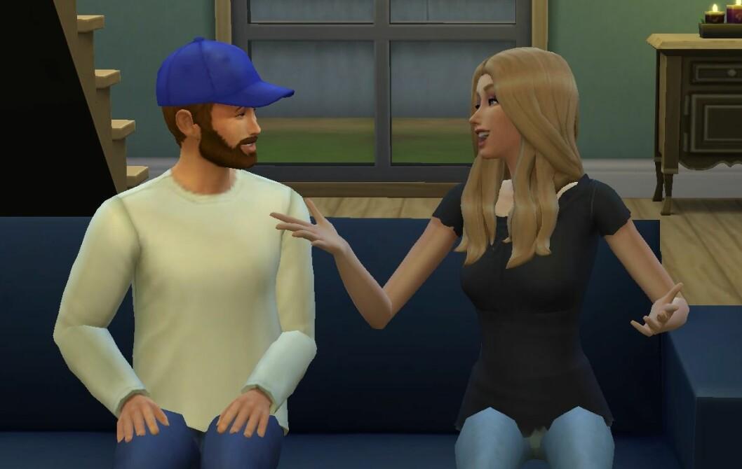 The Sims 4 familj