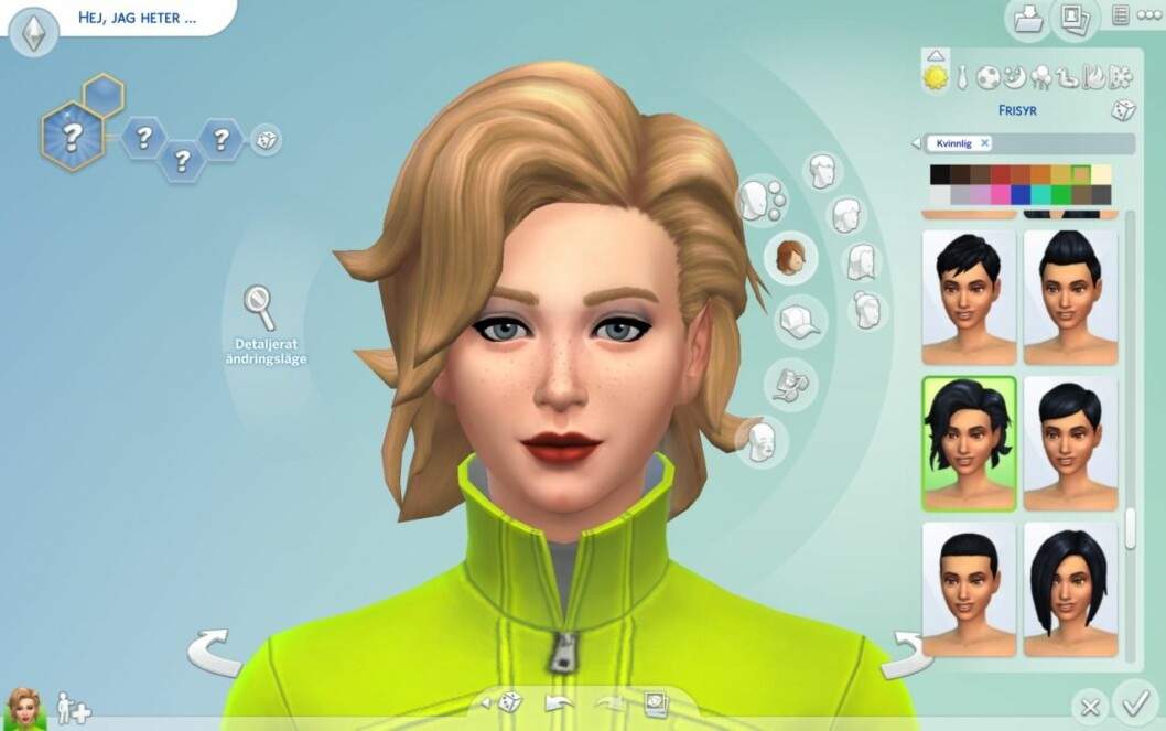 Frisyrer The Sims 4