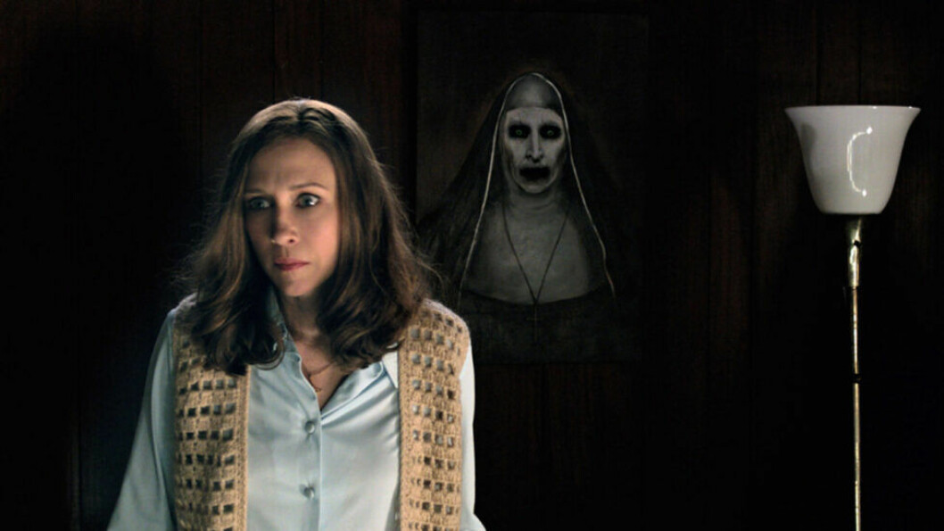 En bild från skräckfilmen The Conjuring.