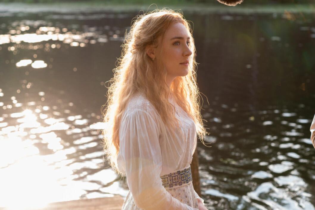 En bild på en av karaktärerna i filmen The Seagull som visas på Viaplay.