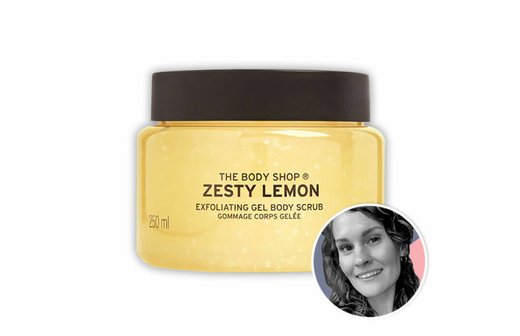 The body shop Special Edition Zesty Lemon Body Scrub