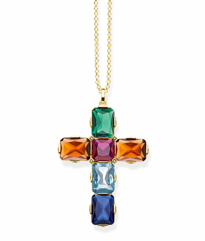 Halsband med kors från Thomas Sabo.