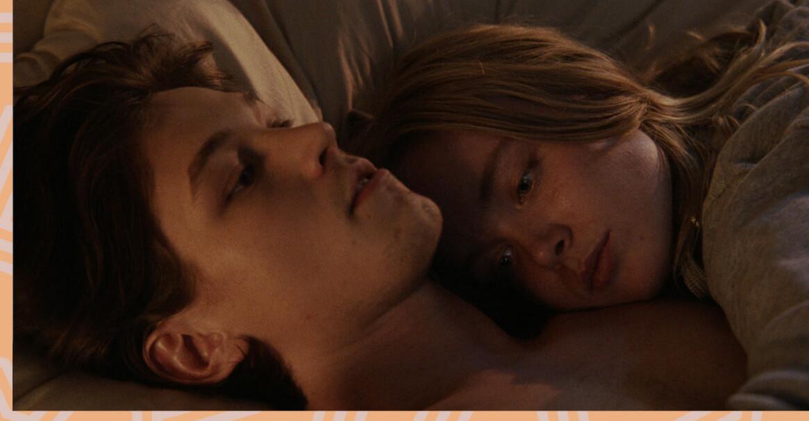 Siri och David i sängen