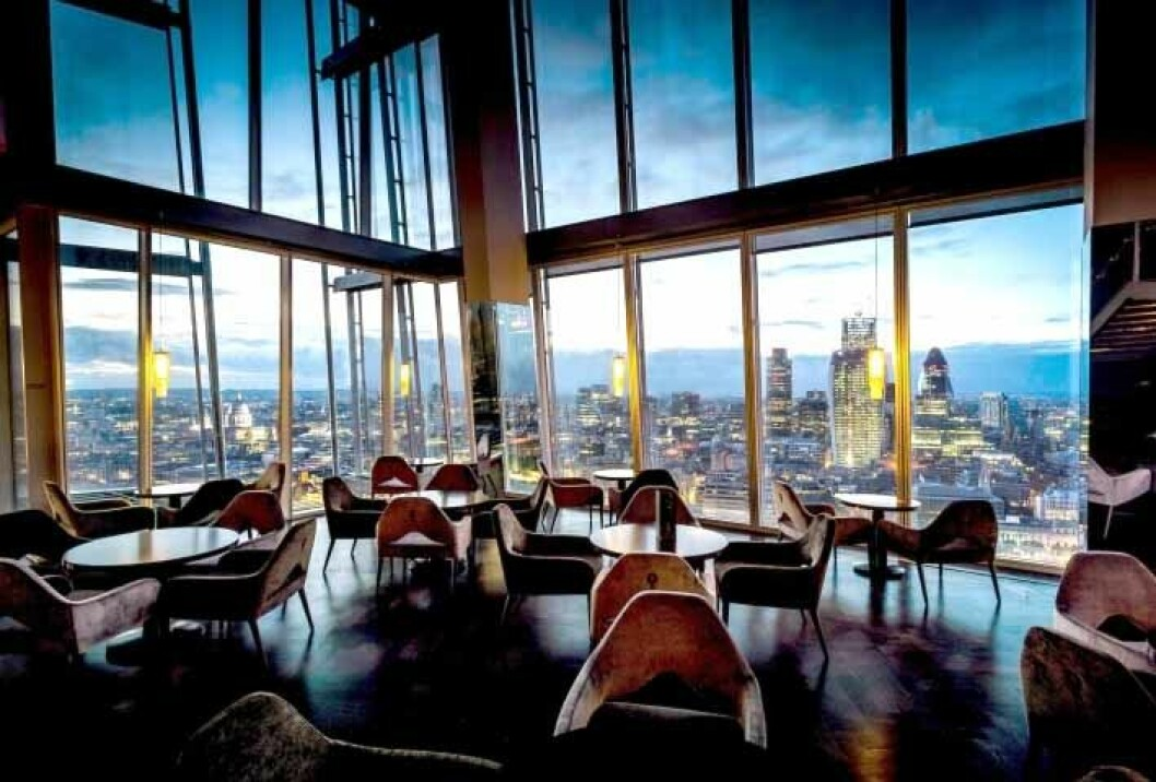 ting the shard hotel