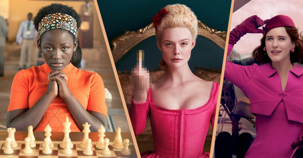 Queen of Katwe, The Great och The Marvelous Mrs Maisel