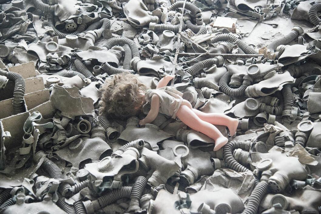 Bilder från Tjernobyl.