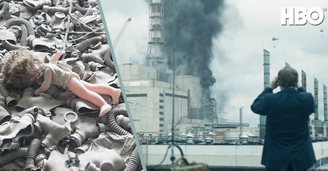 Bilder från Pripjat och Tjernobyl.