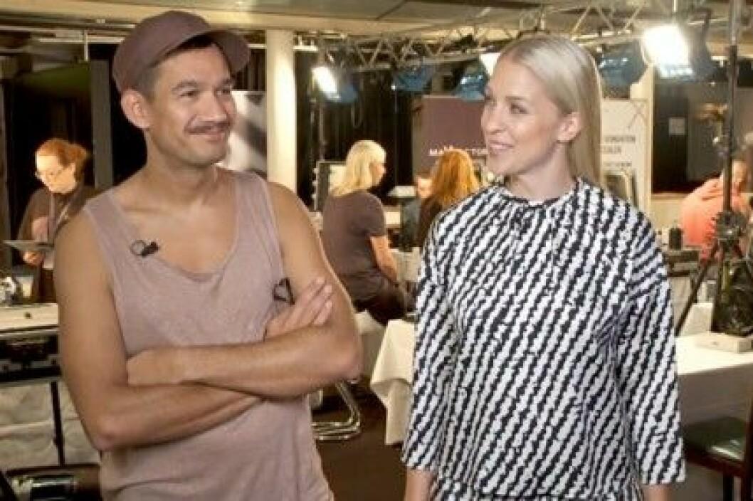 Tomas Lenneryd och Emilia de Poret leder Max Factor TV.