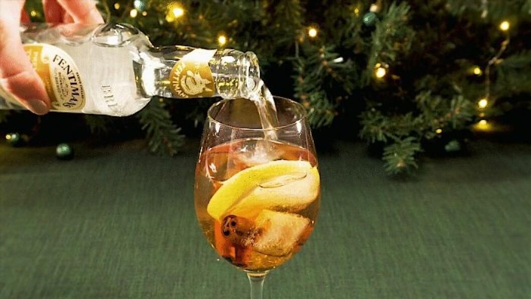 Gin & Tonic spetsad med glögg