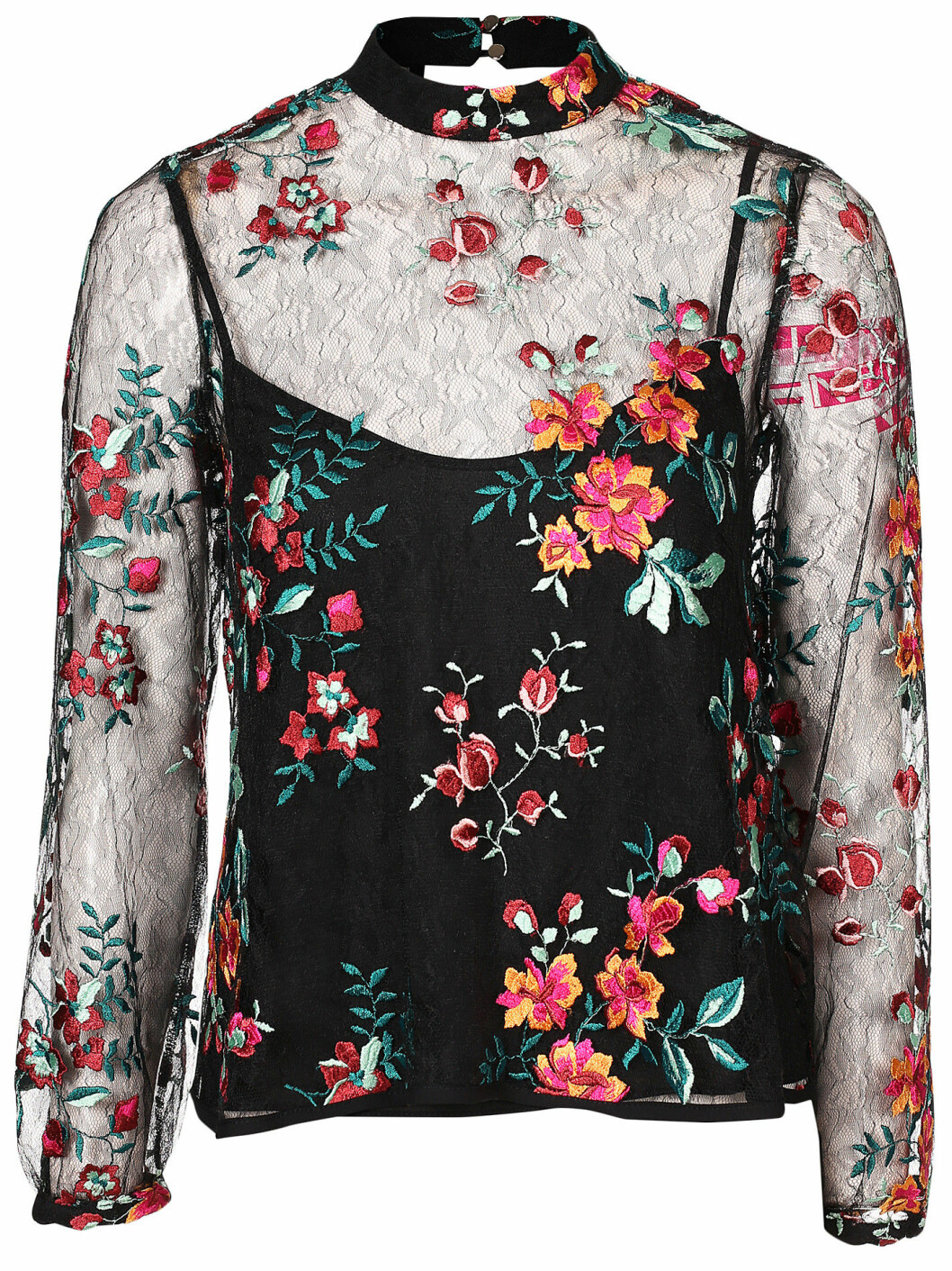 transparent blus blommor
