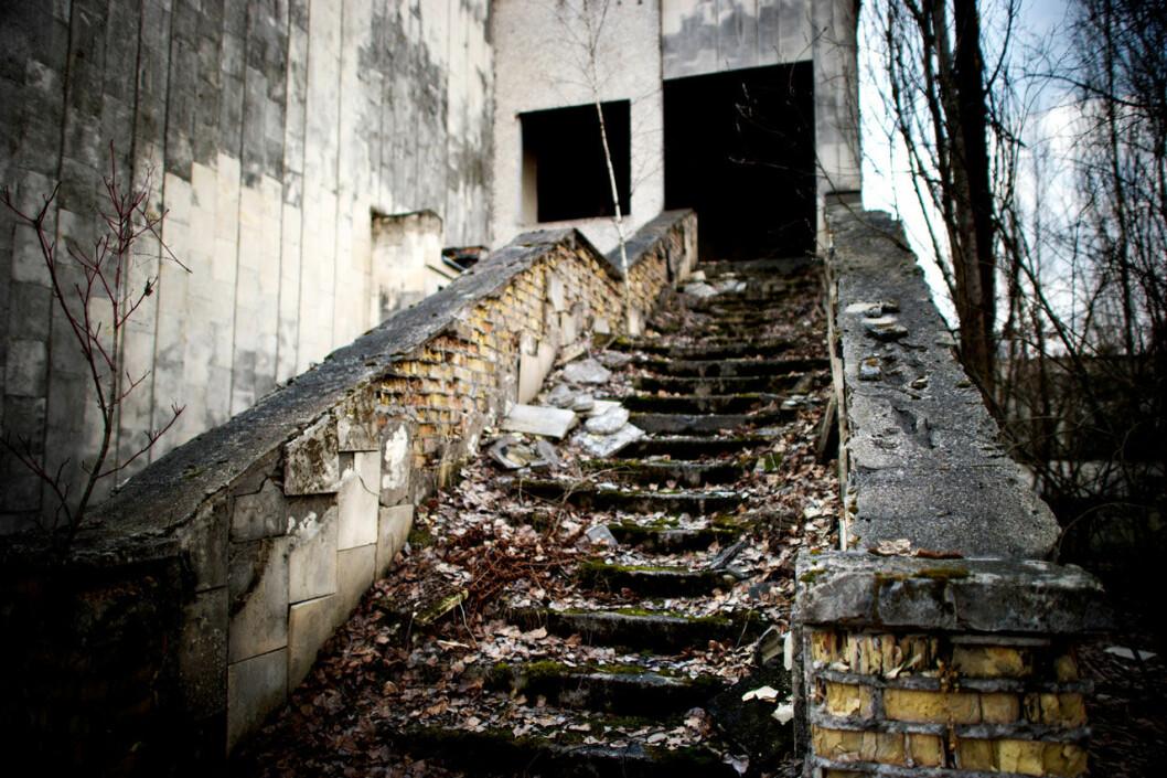 Trappa i Tjernobyl