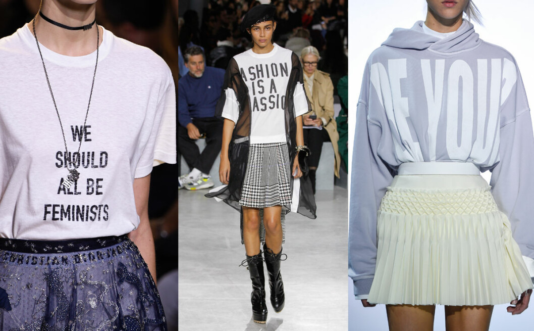 tröja print vårens trender 2017