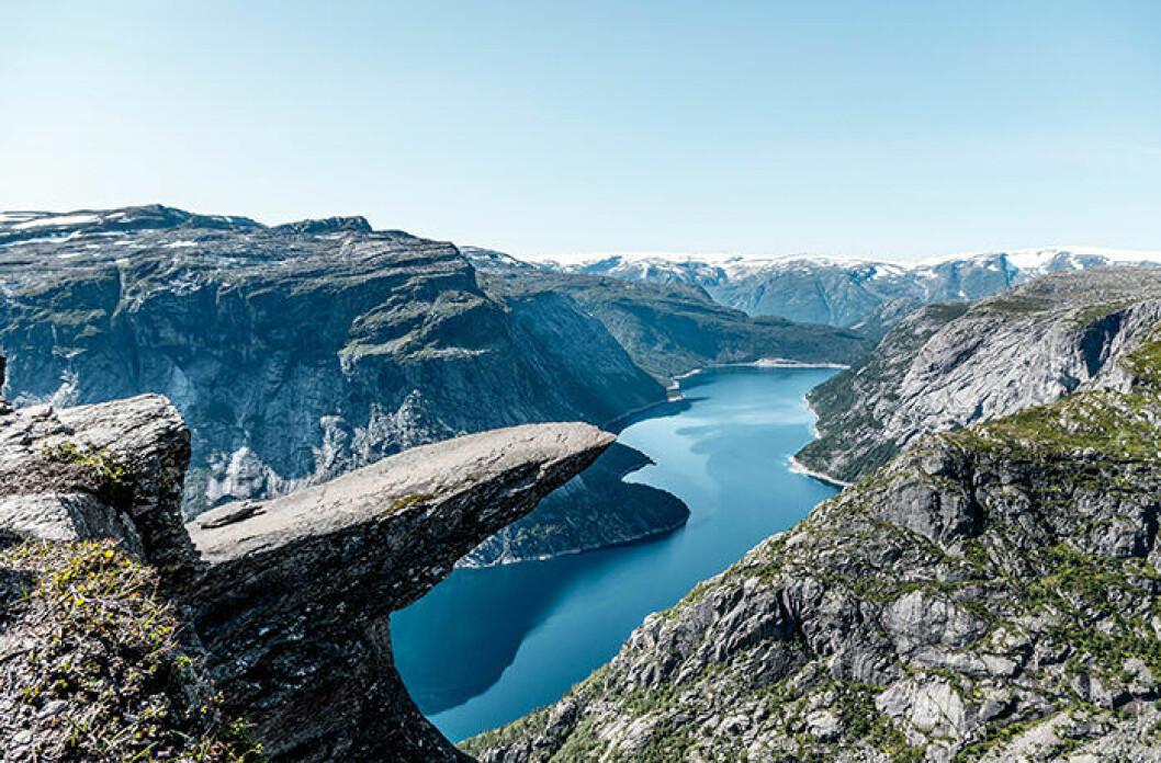 Trolltunga i Norge är värt ett besök – om man orkar vandra