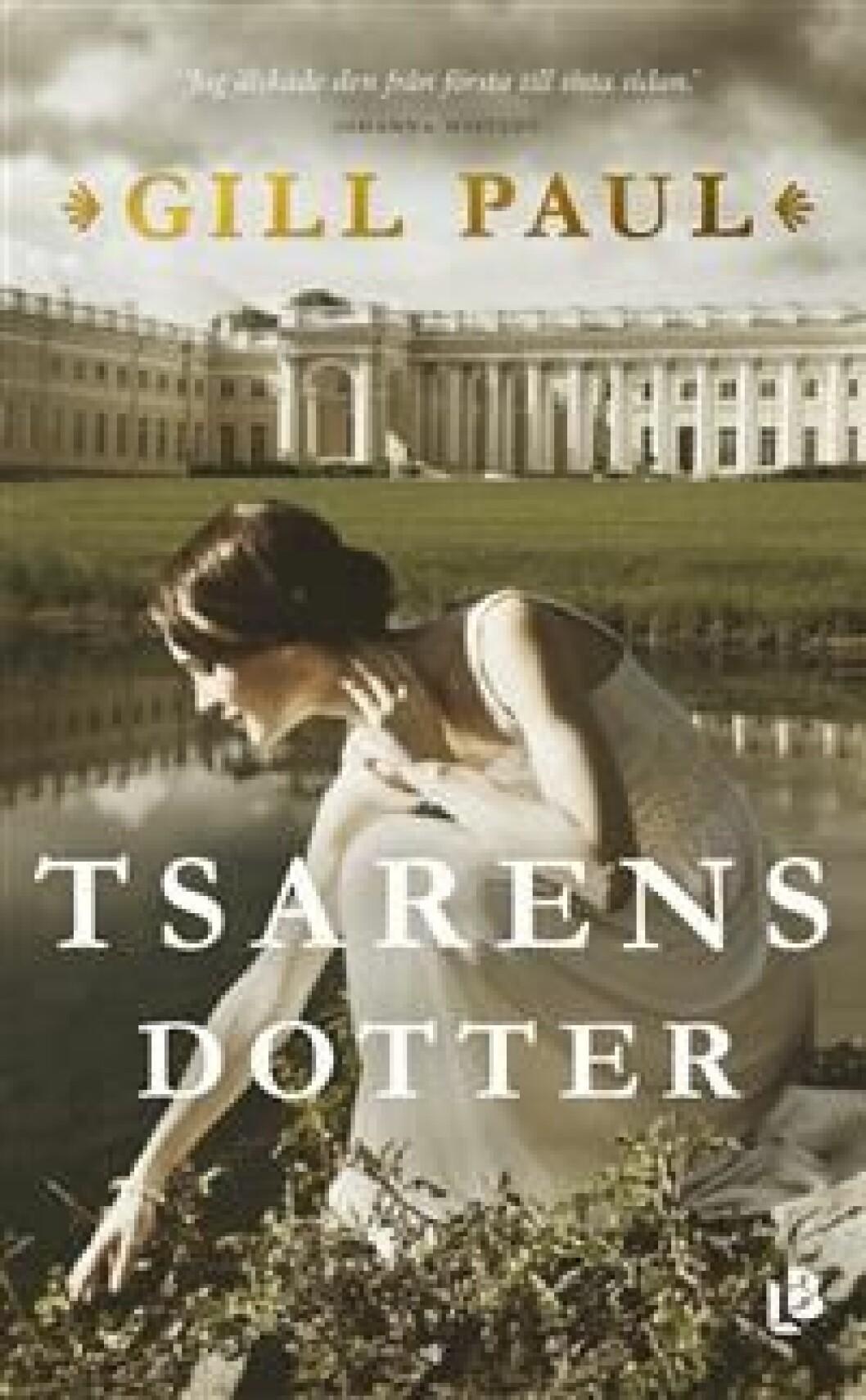 En bild på bokomslaget till romanen Tsarens Dotter (Gill Paul).
